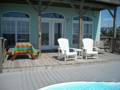 Photo for Affordable Oceanfront with Private Pool
