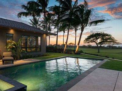 Photo for Breathtaking Estate Home at Hualalai Resort ** Luxury ** Views ** Location ** 2 Golf Carts**