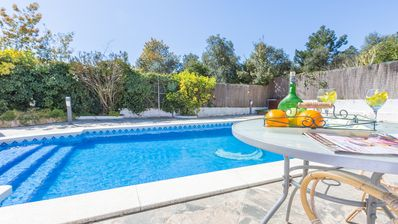 Photo for Villa with swimming pool and private swimming pool in Lloret de Mar at 4 km from la playa