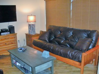 Photo for Cozy Condo on the Comal, Across from Schlitterbahn, Walking Distance to Downtown