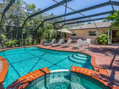 Photo for Spacious home w/ private pool, pool spa, & large outdoor seating area!