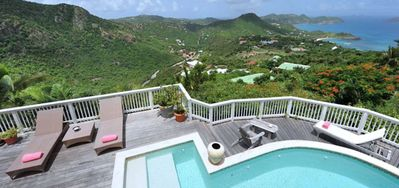 Villa Vagabond  -  Ocean View - Located in  Stunning Salines with Private Pool