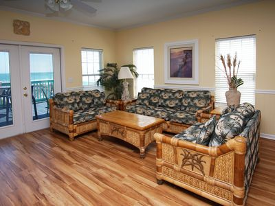 Photo for The EMERALD DUNES ... twin five bedroom villas with pool on North Myrtle Beach's Ocean Boulevard.