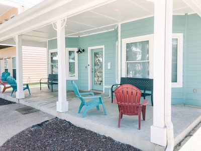 Photo for Walk to BEACH with 2 community pools in Quiet Family friendly area