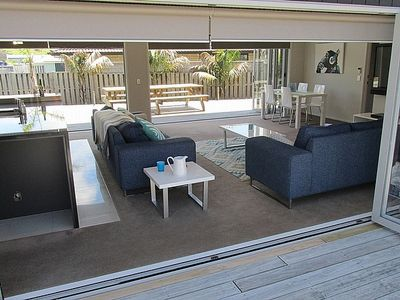 Photo for Haven on Kedge with Sky and WiFi - Mangawhai Holiday Home