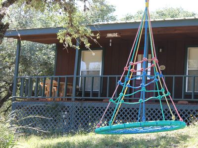 Photo for Cabin Vacation Rental in Leakey, Texas