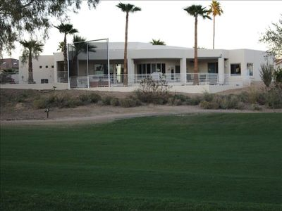 Rear View from Golf Course Fairway
