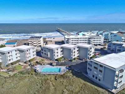 Photo for Ocean view, 3 minute walk to beach, pool & ICW views