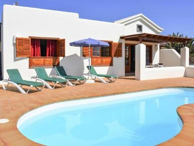 Photo for Villa Faro Lanza, Playa Blanca  in Lanzarote - 4 persons, 2 bedrooms