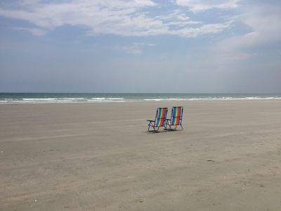 2 Chairs on the Beach - Just Waiting for YOU!