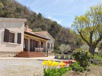 Photo for VILLA independent and quiet with large plot and panoramic view