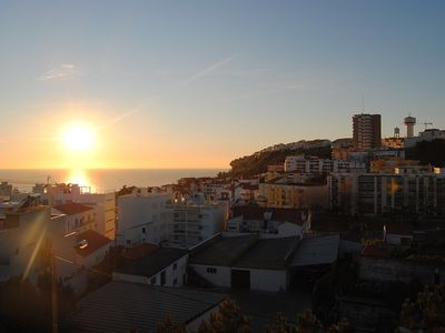 Photo for Apartment Fagota Holiday in Nazaré-3 rooms and barbecue at 900 meters from the beach.