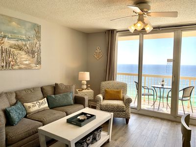 Photo for Just Upgraded, Beachfront, Ocean View, 19th Flr