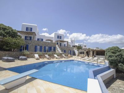 Photo for Villa Phoebe - Near Kalo Livadi Beach