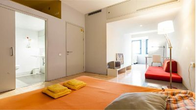 Photo for Minimalist neoclassical Suite-Studio apartment in heart city center! WI-FI Free