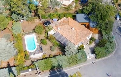 Photo for Pool Villa near Aix-en-Pce Marseille -Provence - Modern house with pool
