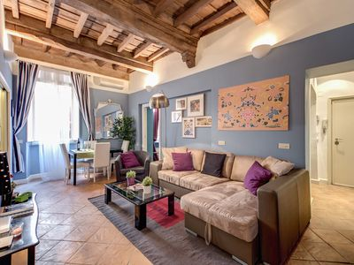 Photo for Elegant and charming apartment Navona Square