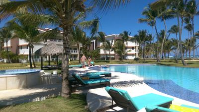 Photo for Quite Living In This Luxurious, Condo, 2000 Sq Ft Apartment On The Beach Condo,