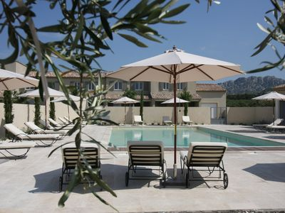 Photo for Luxury Gite for 6 persons with heated pool in the heart of the Alpilles Natural Park