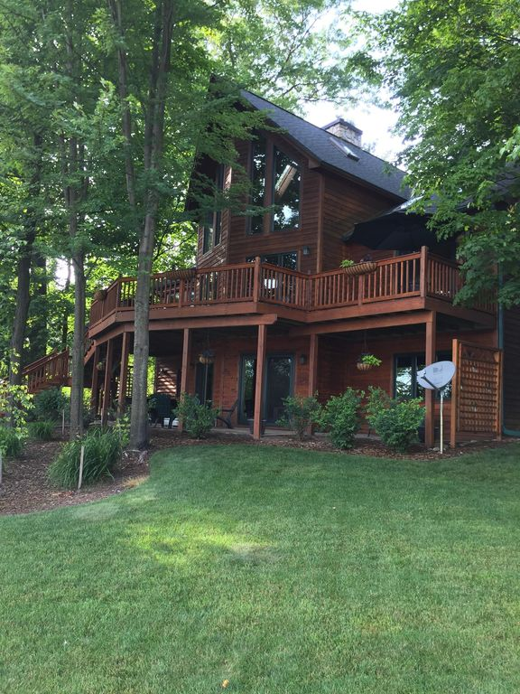 Northern Retreat Clam Torch Lake Private B Vrbo