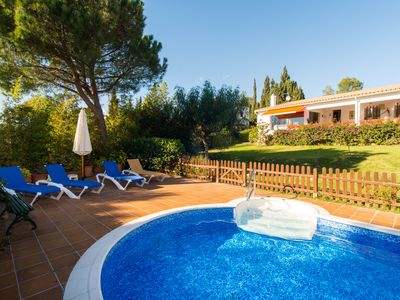 Photo for Costabravaforrent Masramon, house for 12 with garden and private pool, 5 bedrooms