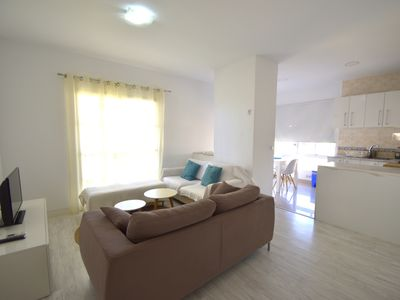 Photo for New and 50 meters to the beach !! Across from the beach!