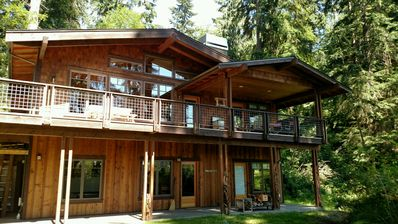 Photo for Beautiful craftsman lakeside chalet home. 2 bed, 2.5 bath. (248)