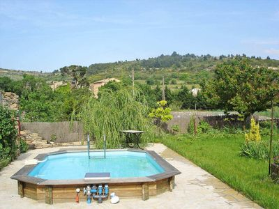 Photo for Stone house in the heart of the Minervois wine region