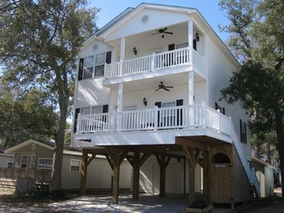 Photo for Quiet section of Ocean Lakes with access to all ammenities - free Wi-Fi