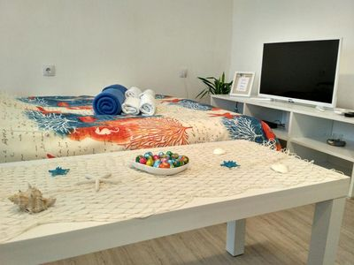 Photo for Apartment Diego, 1-4 people, excellent location, free WiFi, public parking