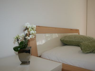 Photo for Modern, quiet apartment with privacy in a top location.