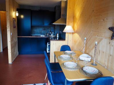 Photo for Studio 30m2 renovated, Center Station Deux Alpes, Foot of the slopes