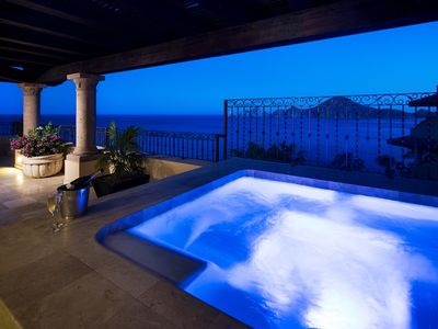 Photo for Stunning 4 Bed / 4.5 Bath Penthouse Right on Medano Beach in Cabo San Lucas