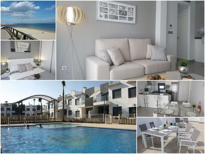 Photo for NEW LUXURY APARTMENT WITH SEA VIEW