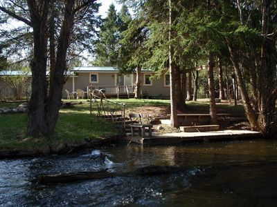 Photo for Charming lodge like cabin on blue ribbon stream near ORV & Snoowmobile trails