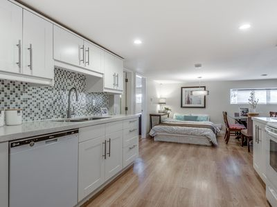Photo for Beautiful Remodeled  Modern, Relaxed, Private Home - Great Location 3 bedrooms