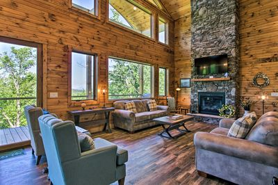 Spend your next Smoky Mountain getaway here in Sevierville!