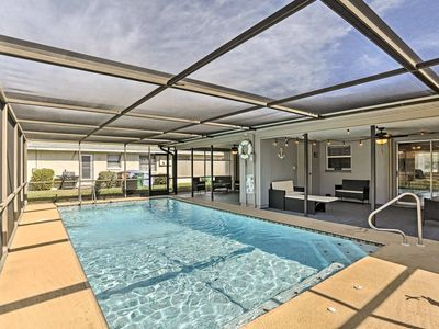 Photo for Charming Cape Coral Duplex w/Lanai & Shared Pool!