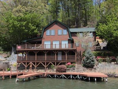 """ALLURE OF THE LAKE"" IS AN AWESOME 3BR/2BATH LAKEFRONT HOME ON BEAUTIFUL LAKE LURE!"