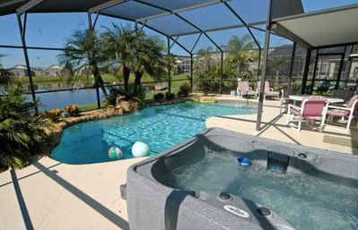 Photo for Lagoon Style Pool with HOT TUB & GAMES ROOM!
