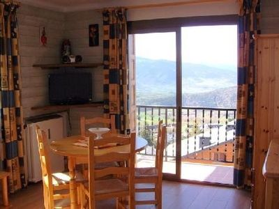Photo for T2 apartment in FONT ROMEU. Label 3 Clévacances. Exceptional panorama