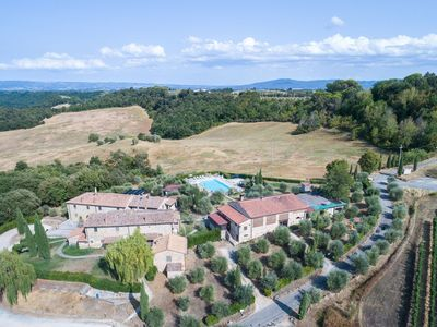 Photo for Portion of medieval tuscany village (206), mezzanine apartment 3 bedrooms, 3  bathrooms