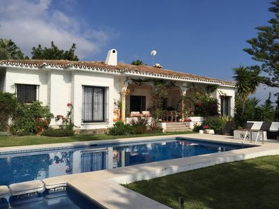 Photo for Stunning Bungalow Villa With a Large Private Pool and Gardens