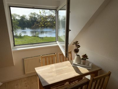 Photo for Apartment right on the lake - in a dream location just outside Schwerin