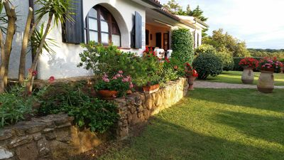 Photo for Villa La Sarra palette of colors, atmosphere, balance between sea and countryside