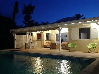 Photo for Villa with pool bordering golf in Guadeloupe