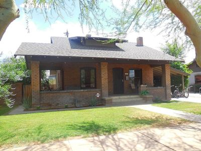 1931 Historic, Downtown Bungalow close to Dbacks, Conventions and Hospitals