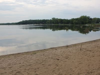 Photo for Cozy 2 Bedroom +Loft Cabin on Beautiful Clearwater Lake In South Haven