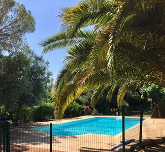Photo for Villa of charm any comfort with beautiful sight sea, park sported and swimming pool cloturée