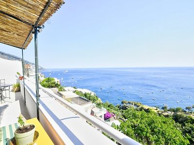 Photo for Villa Batticuore: An elegant and welcoming independent house located in the center of Positano, with Free WI-FI.